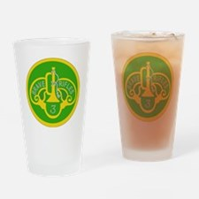 SSI - 3rd Armored Cavalry Regiment Drinking Glass