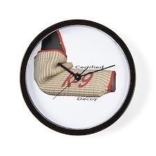 Sleeve certified K9 decoy (light)2 Wall Clock