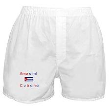 Amo a mi Cubana. Boxer Shorts