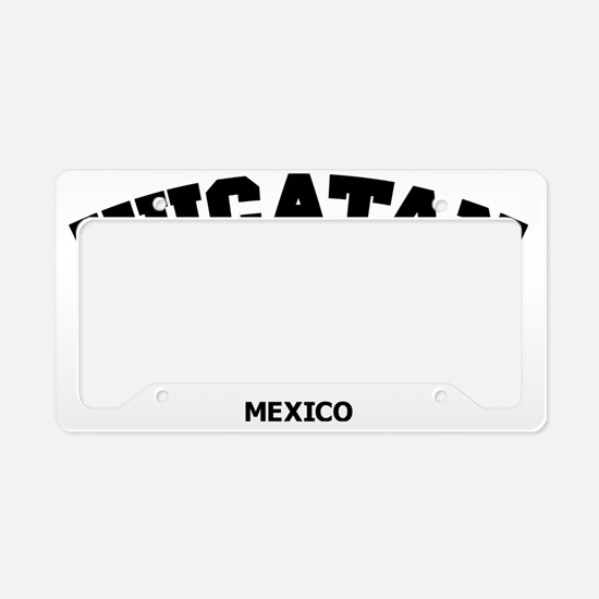 Yucatan License Plate Holder