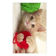 Yarn Kitty journal Postcards (Package of 8)