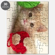 Yarn Kitty journal Puzzle