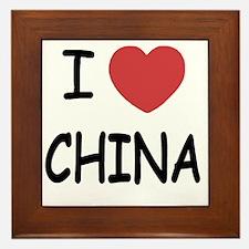 CHINA Framed Tile