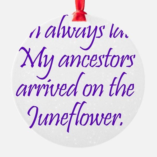 Juneflower1 Ornament