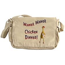 chickendinner1.PNG Messenger Bag