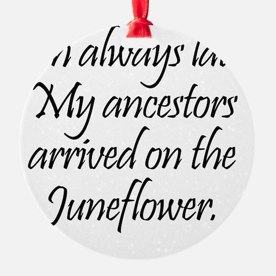 Juneflower2 Ornament