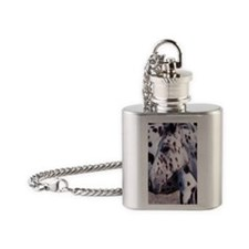 Horse Spot ov orn Flask Necklace