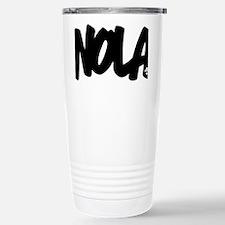 NOLA Brushed W Travel Mug