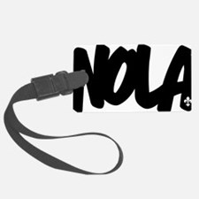NOLA Brushed W Luggage Tag