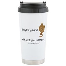 everything-is-cat Travel Coffee Mug