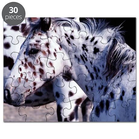 Horse Spot pan print Puzzle