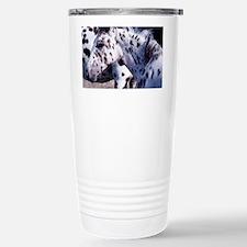 Horse Spot pan print Stainless Steel Travel Mug
