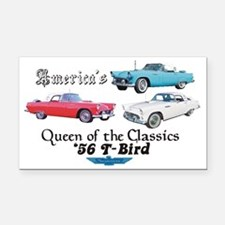 56 T Birds Rectangle Car Magnet