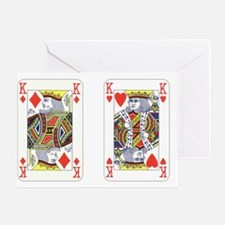 Kings (red) Greeting Card