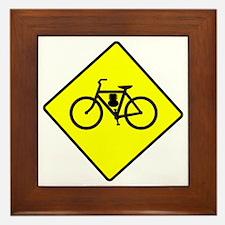 motor-bike-symbol Framed Tile