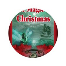 """The Magic of Christmas notecard 3.5"""" Button"""
