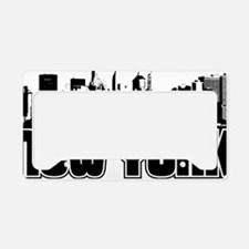 New York Skyline License Plate Holder