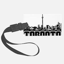 Toronto Skyline Luggage Tag