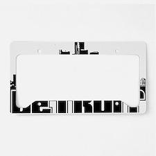 Detroit Skyline License Plate Holder