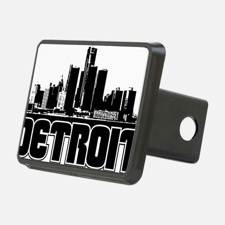 Detroit Skyline Hitch Cover