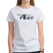 Real Men Pray Tee