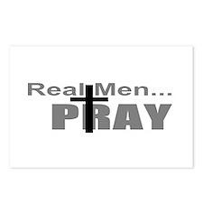Real Men Pray Postcards (Package of 8)