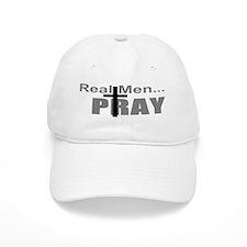Real Men Pray Baseball Cap