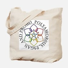 Pagan Poly and Proud circle Tote Bag
