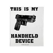 gun device2 Throw Blanket