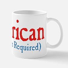 american hyphen title Mug