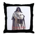Giordano Bruno Throw Pillow