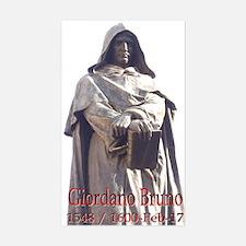 Giordano Bruno Rectangle Decal