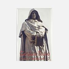 Giordano Bruno Rectangle Magnet