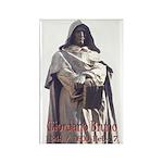 Giordano Bruno Rectangle Magnet (100 pack)