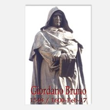 Giordano Bruno Postcards (Package of 8)