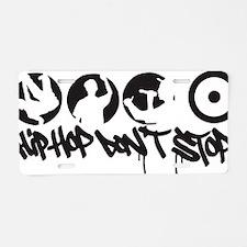 hiphop1b Aluminum License Plate