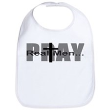 Real Men Pray Bib