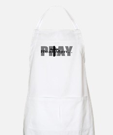 Real Men Pray BBQ Apron