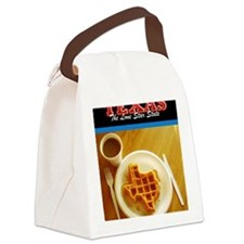 Postcard Texas Waffle_300dpi_4x5 Canvas Lunch Bag