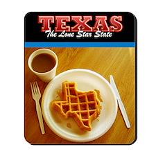 Postcard Texas Waffle_300dpi_4x5 Mousepad