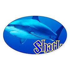 Sharks Wall Calendar Decal