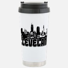 Cleveland Skyline Stainless Steel Travel Mug