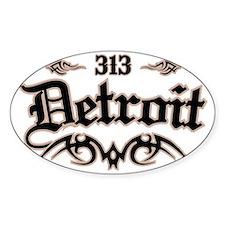 Detroit 313 Decal