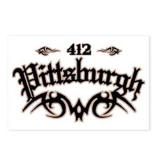 Pittsburgh 412 Postcards (Package of 8)