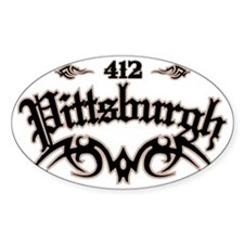 Pittsburgh 412 Decal