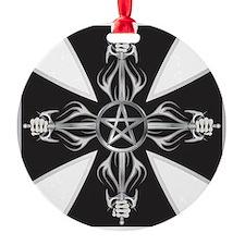 Maltese Cross Ornament