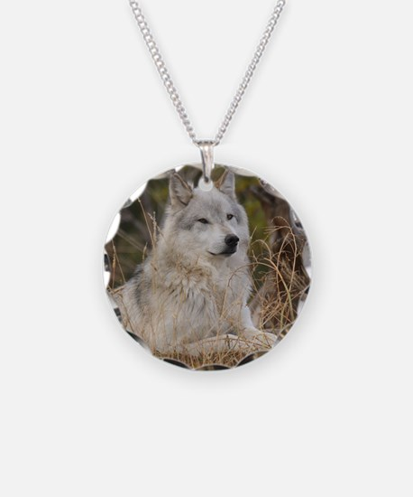 Wolf 10x10 Necklace