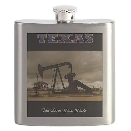 Texas_Pumpjack_0998_300dpi_16x20 Flask