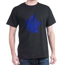 dragon-bks_blue T-Shirt