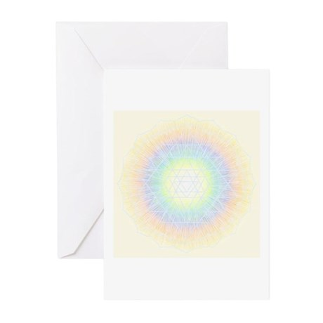 Spectral Yantra Greeting Cards (Pk of 10)